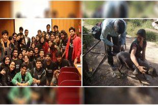 Delhi University students promote desi dogs adoption