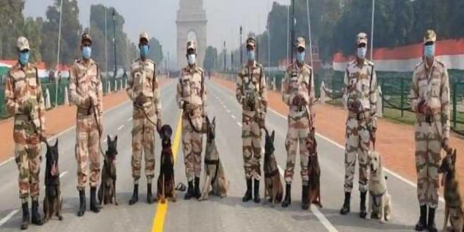 ITBP's K9 Dog Squad set to Join Security Team for Republic Day Parade