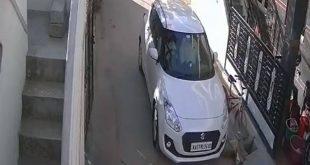 Retired Police Officer Runs Over Stray Dog, Horrible Incident Recorded on CCTV