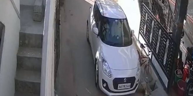 Retired Police Officer Runs Over Stray Dog, Horrible Incident Recorded on CCTV