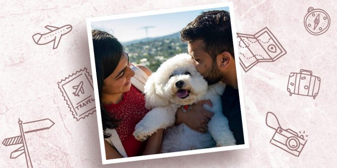 For the love of pets, Sinal and Veer flew from Australia to India