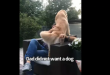 This is how a dad interacts with a dog he didn't want. Cute video goes viral