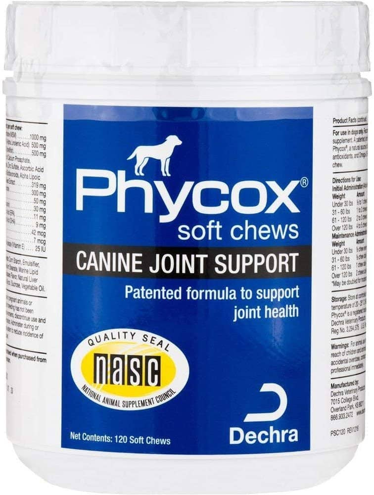 Soft chews for Canine Joint Support